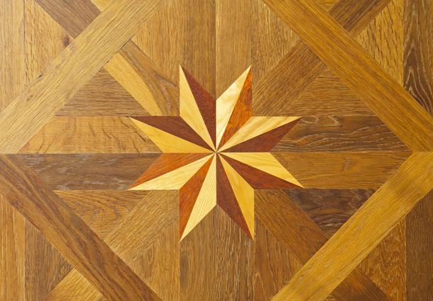 installation of hardwood flooring