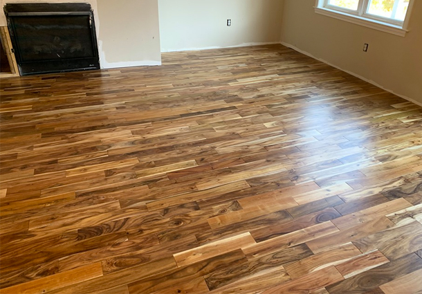 Completed Flooring Project in Greenland, NH!