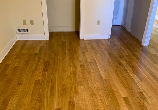 New Floor in Portsmouth, NH