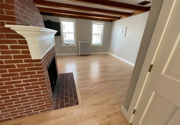 Antique Maple Floor Sand and Refinish