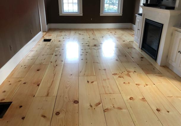 Newington, NH Floor Refinish
