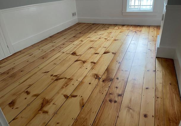 Dover, NH White Pine Floor